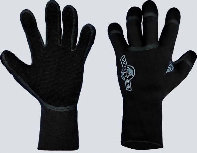 5mm HEAT neopren rukavice WHITES