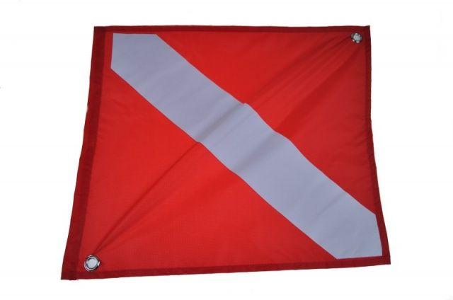 Vlajka potápěčská 32 x 38 cm NTEC